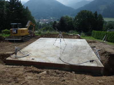Fundament Bau-Wifzack Murtal